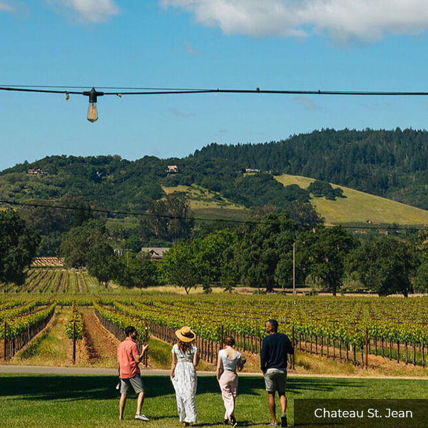 Chateau St. Jean Sonoma Valley Wine Tours